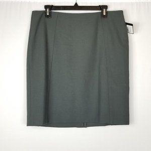 Halogen Women's Pencil Skirt size 14p petite Grey